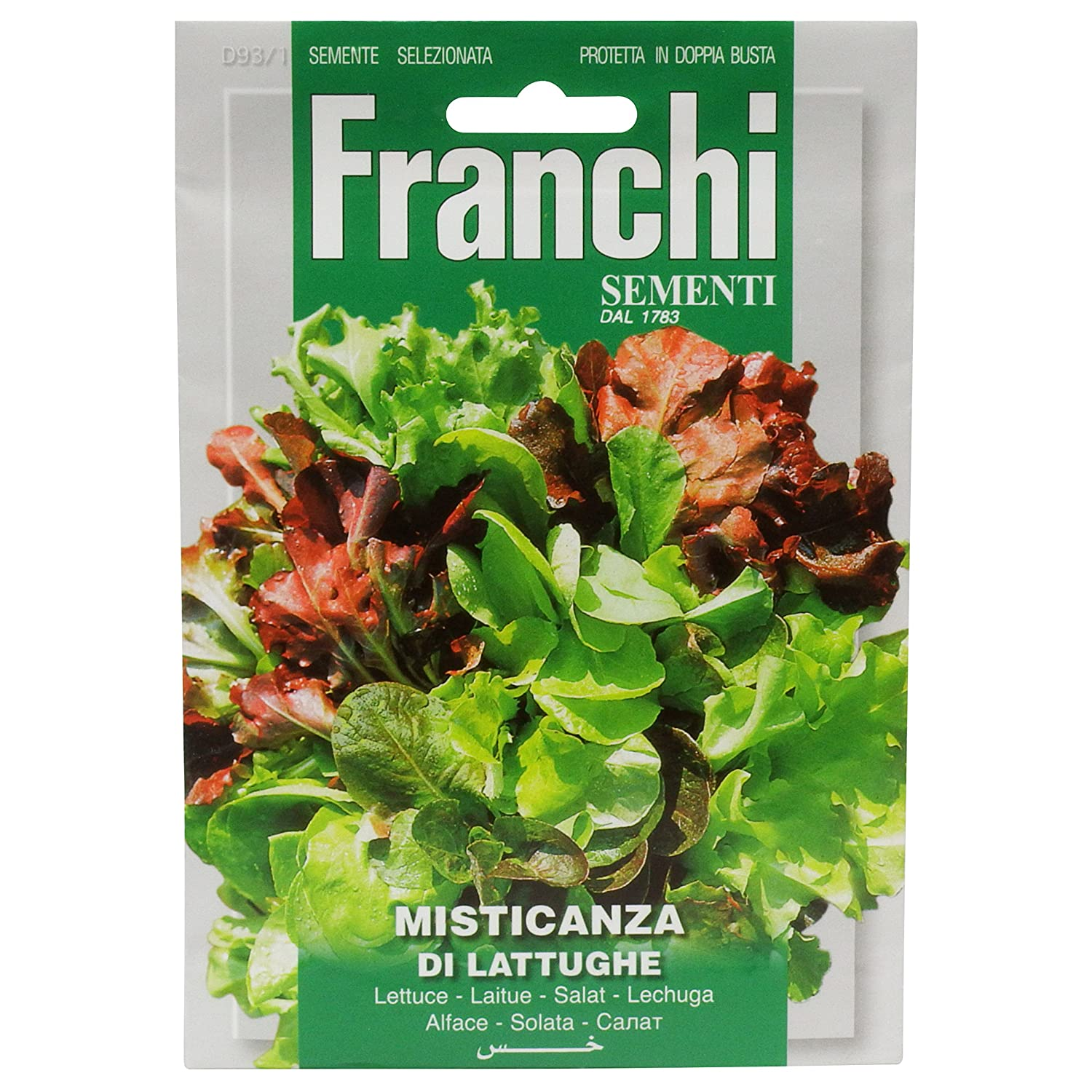 Franchi Mixed Lettuces Pack Seeds of Italy Ltd 93/1