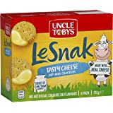 UNCLE TOBYS Le Snak Tasty Cheese Dip & Crackers 6 Pack, 132g