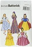 Butterick Patterns B4320 Size CHILD 2-3 4-5 Children's/ Girls' Costume, Pack of 1, White