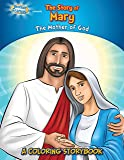 Brother Francis Friends Coloring and Activity Book, Virgin Mary, The Story of Mary, Mary Mother of Jesus, Coloring Bible Storybook, Catholic Coloring ... for Kids, Soft Cover (Coloring Storybooks)