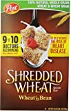 Post, Shredded Wheat, Wheat & Bran Cereal, 18 oz