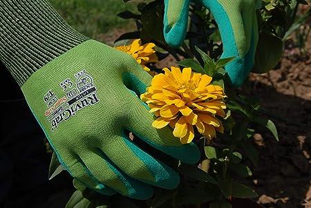 l/átex natural acabado FOAM Ruvigrab Guante jardiner/ía//ganader/ía