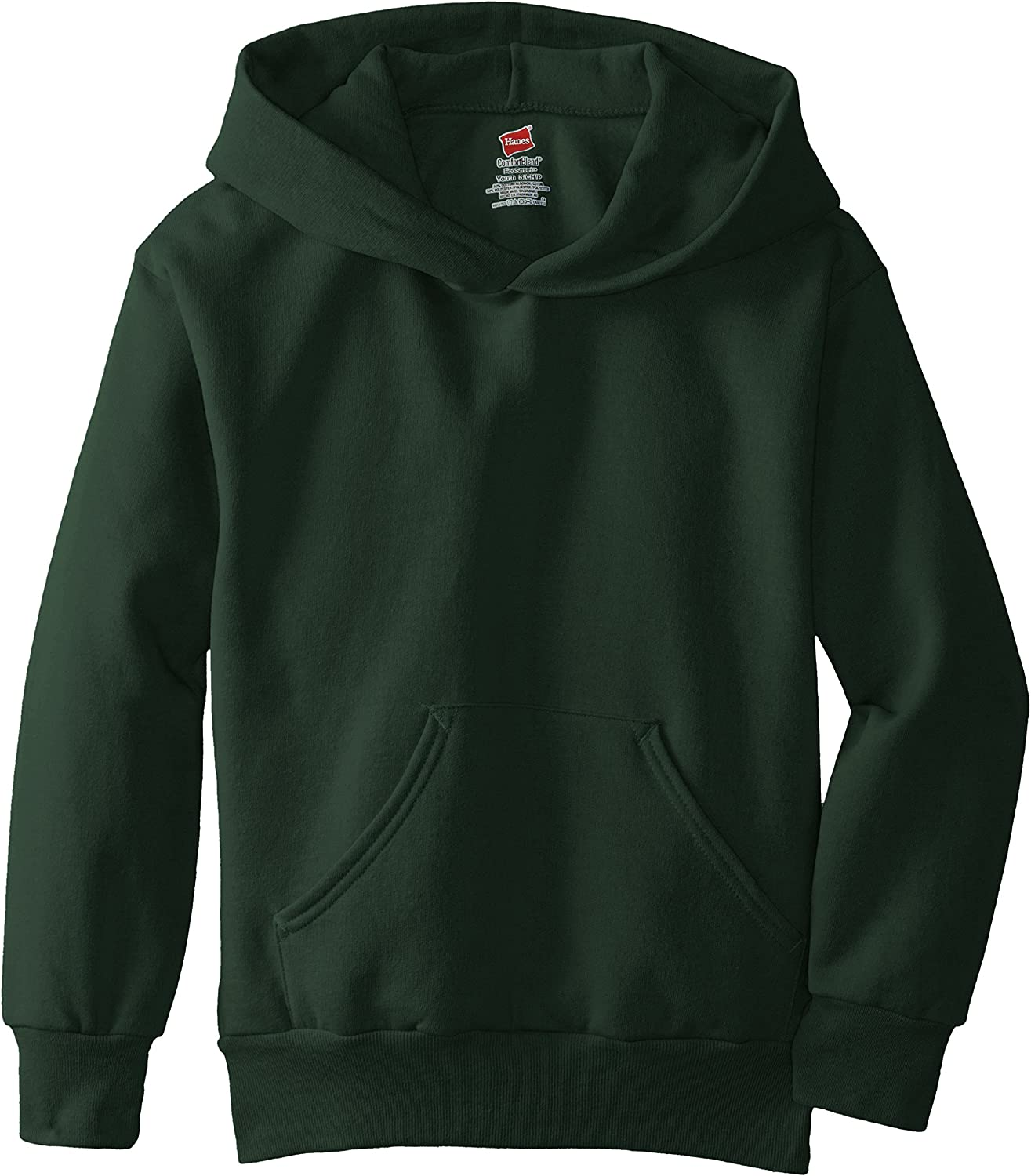 Hanes Big Boys' Eco Smart Fleece Pullover Hood