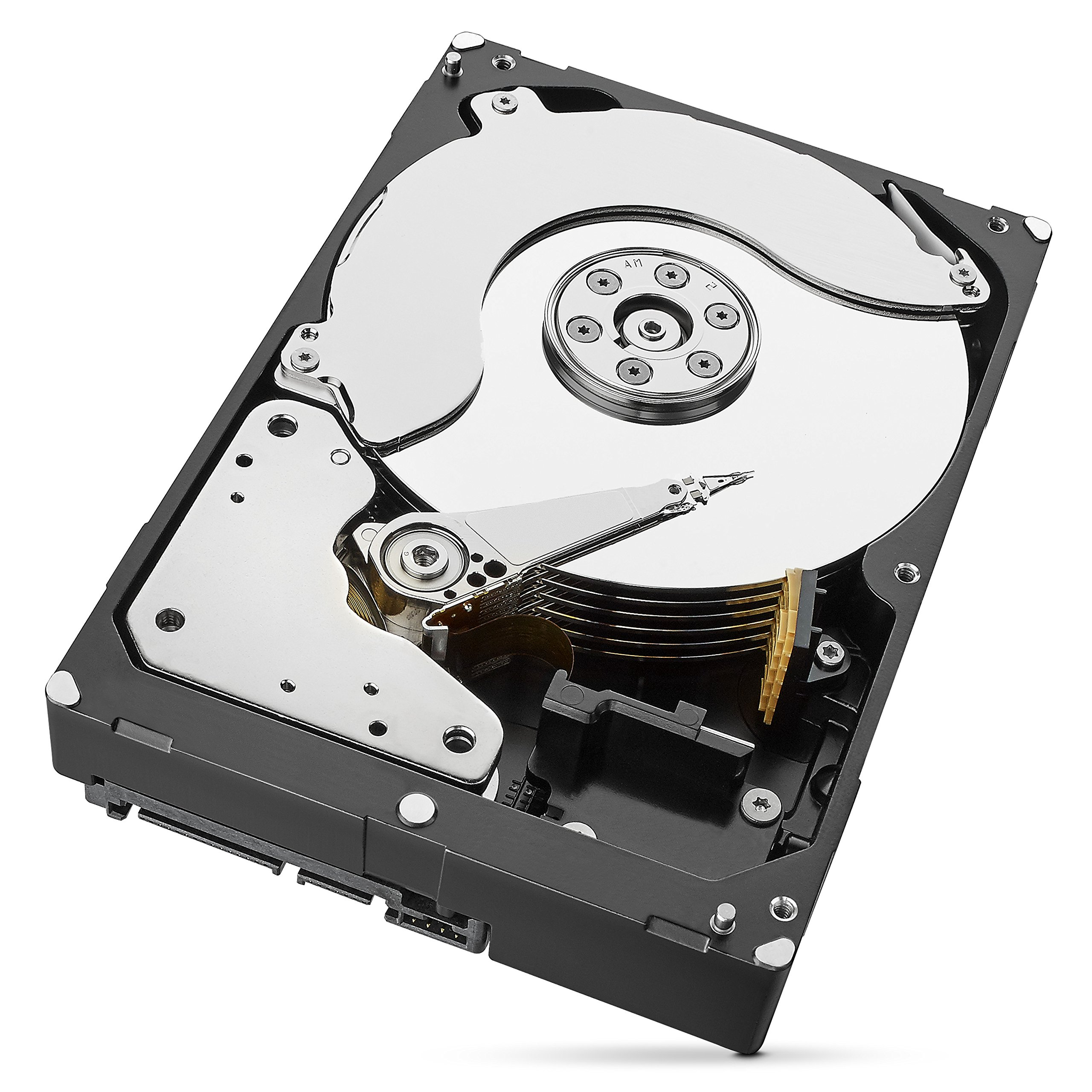 Seagate 6TB IronWolf NAS SATA 6Gb/s NCQ 128MB Cache 3.5-Inch Internal Hard Drive (ST6000VN0041) by Seagate (Image #2)