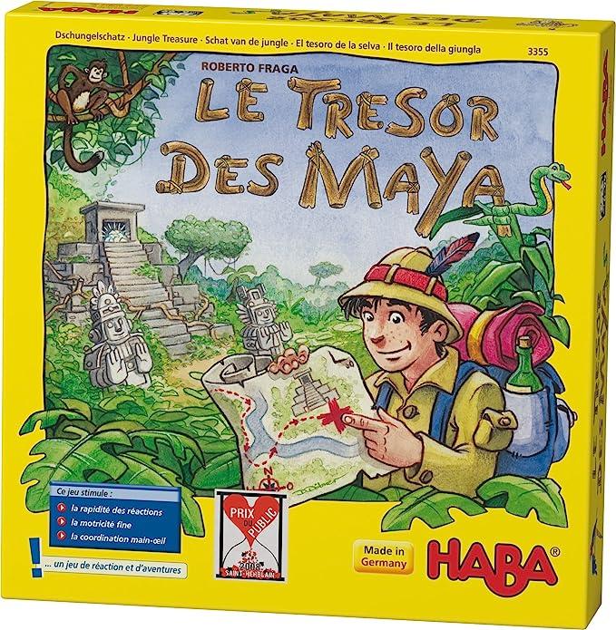 HABA - 3355 - Juegos educativos - «El Tesoro de los mayas»: Amazon ...