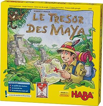 HABA - 3355 - Juegos educativos - «El Tesoro de los mayas»: Amazon.es: Juguetes y juegos