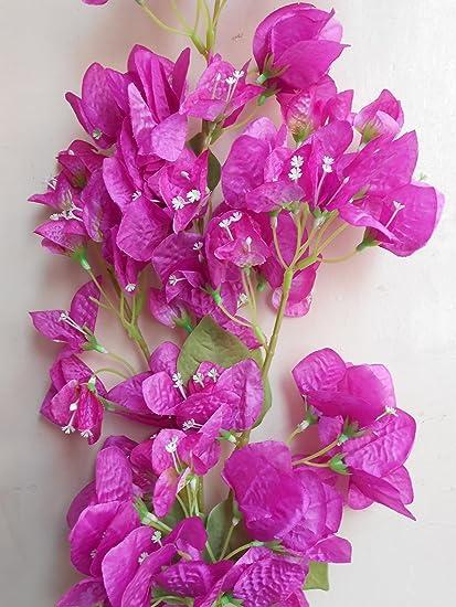 Buy Samriddhi Artificial Lovely Pink Bugambilia Flowers Hanging