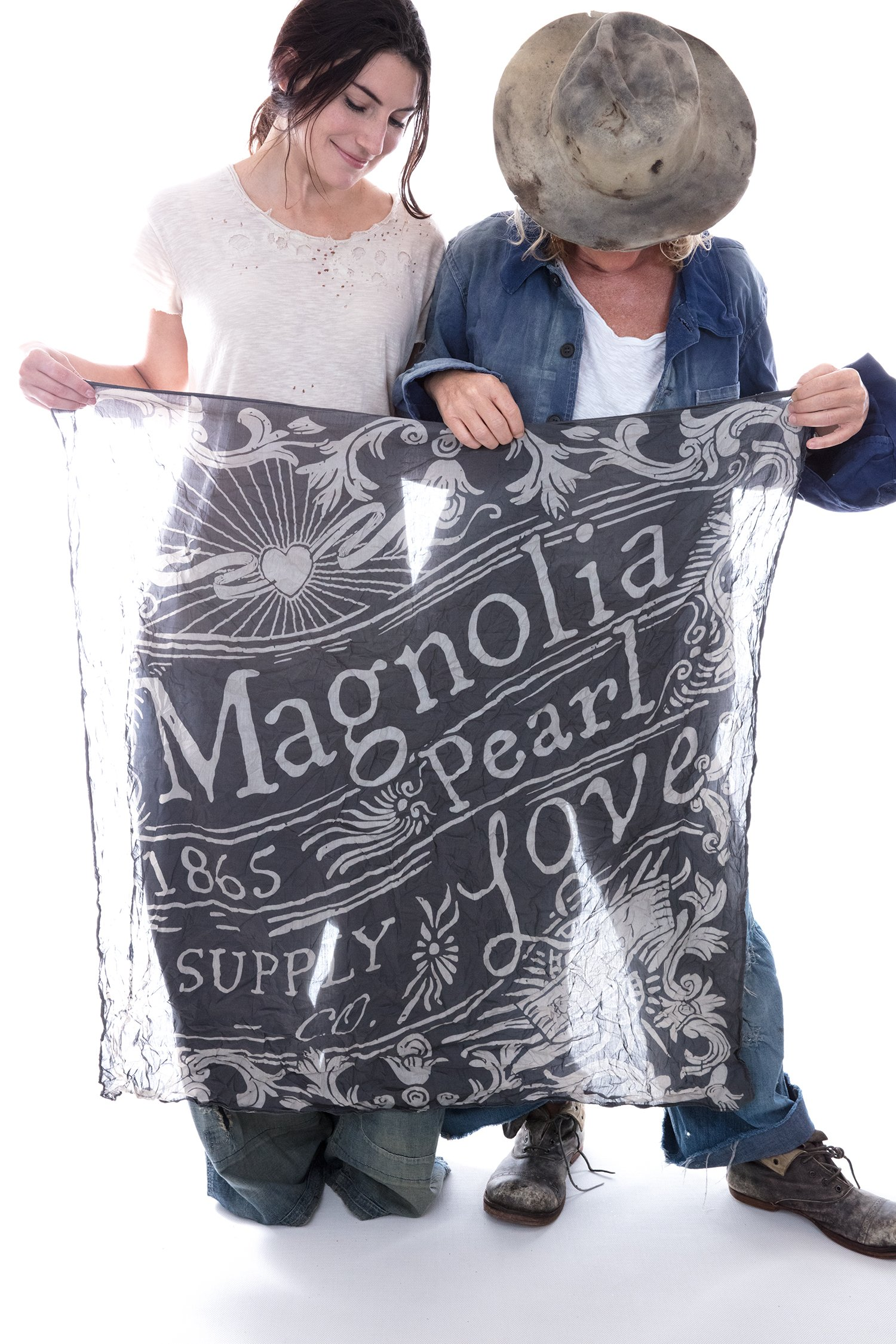 MP Love Supply Co. Scarf, Midnight, One Size