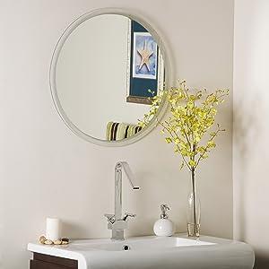 Decor Wonderland Frameless Contempo Mirror