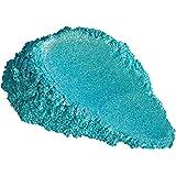 "51g/1.8oz""Turquoise Diamond Effect"" Mica Powder Pigment (Epoxy,Resin,Soap,Plastidip) Black Diamond Pigments"