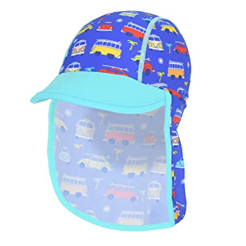 5f664783c03 Volkswagen Boys Upf 50+ Protection Sun Hat Cap with Neck Cover