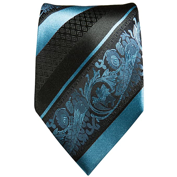 Paul Malone Krawatten Set 3tlg 100/% Seide rot paisley Normall/änge, Extralang oder schmal