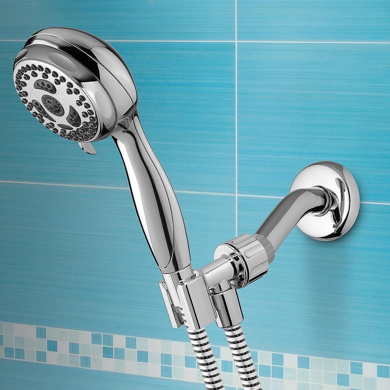 Waterpik NSL 653 Linea 6-Mode Handheld Shower, Chrome - Hand Held ...