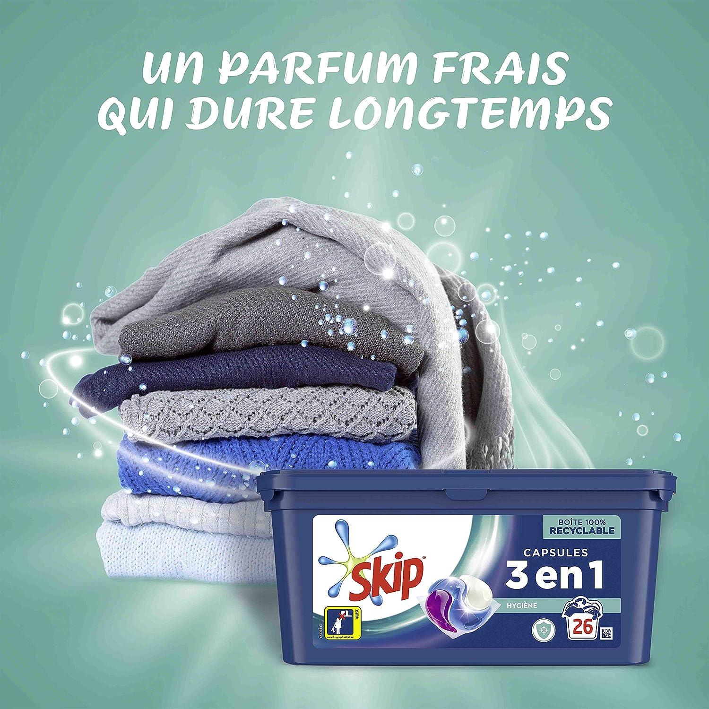 Skip lavandería Cápsulas Trio Ultimate higiene 26 lavados ...