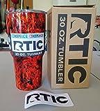 RTIC Bundle - Custom Dipped 30 Ounce Travel Tumbler
