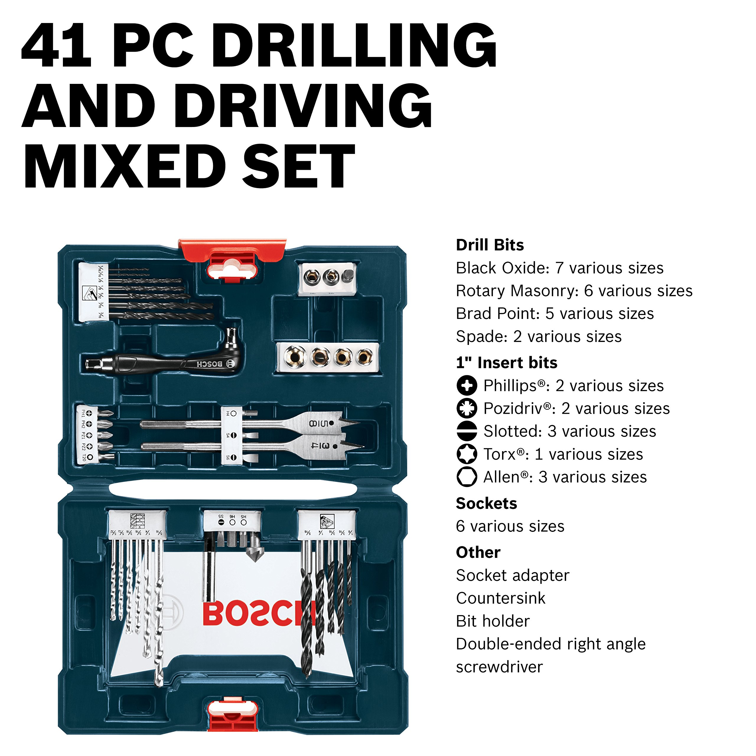 Bosch MS4041 41-Piece Drill and Drive Bit Set by Bosch (Image #3)