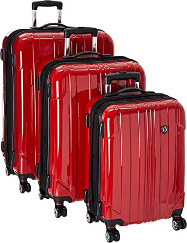 Traveler's Choice Sedona 100 Pure Polycarbonate Expandable Spinner Luggage