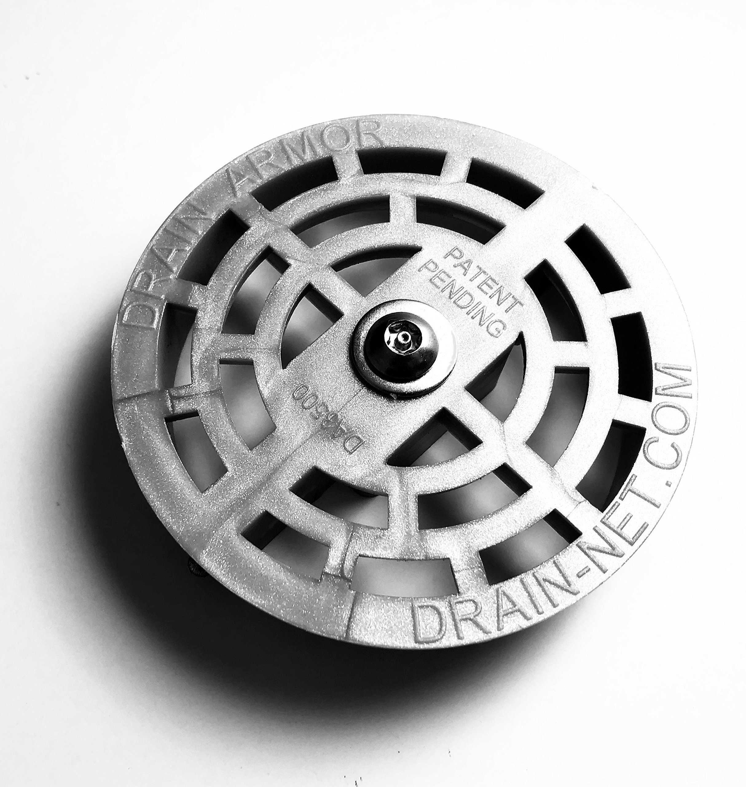 Drain Armor 3.5'' Locking Strainer for Compartment Sinks