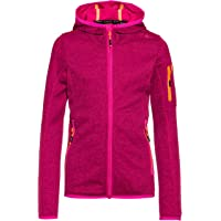 CMP Hooded Knit Tech Fleece Chaqueta Chica