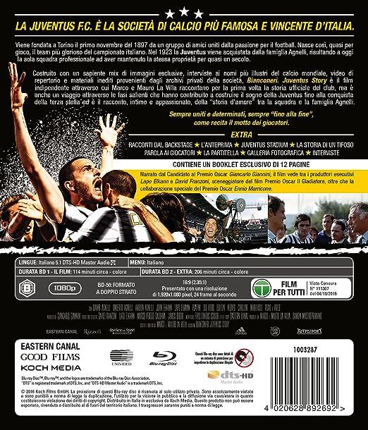 abbastanza Bianconeri Juventus Story - Il Film (2 Blu-Ray): Amazon.it  DS68