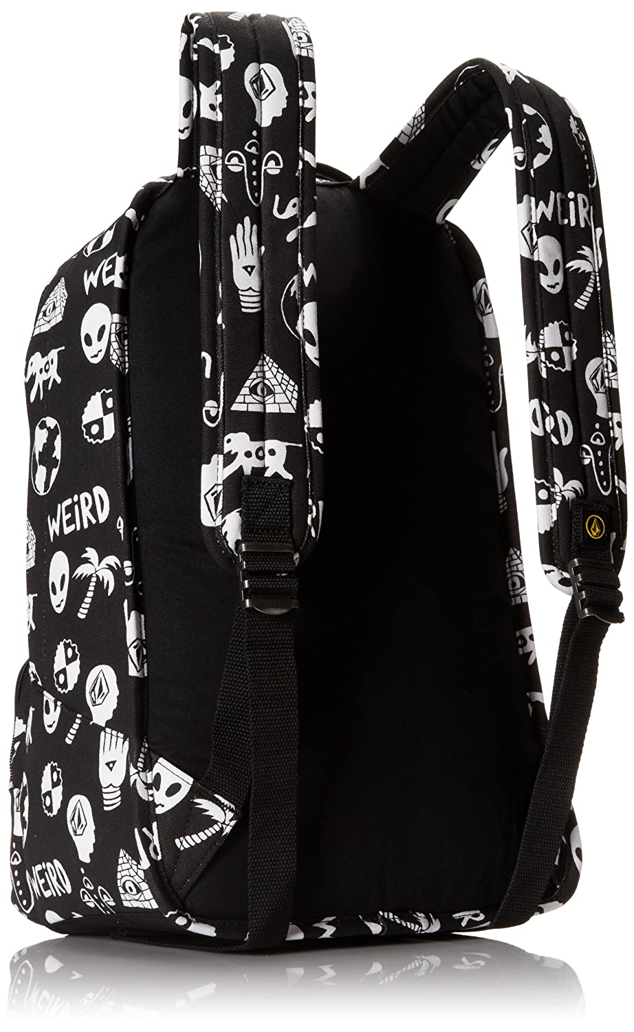 Amazon.com: Volcom Mens Basis Canvas Backpack, Black White One Size: Clothing