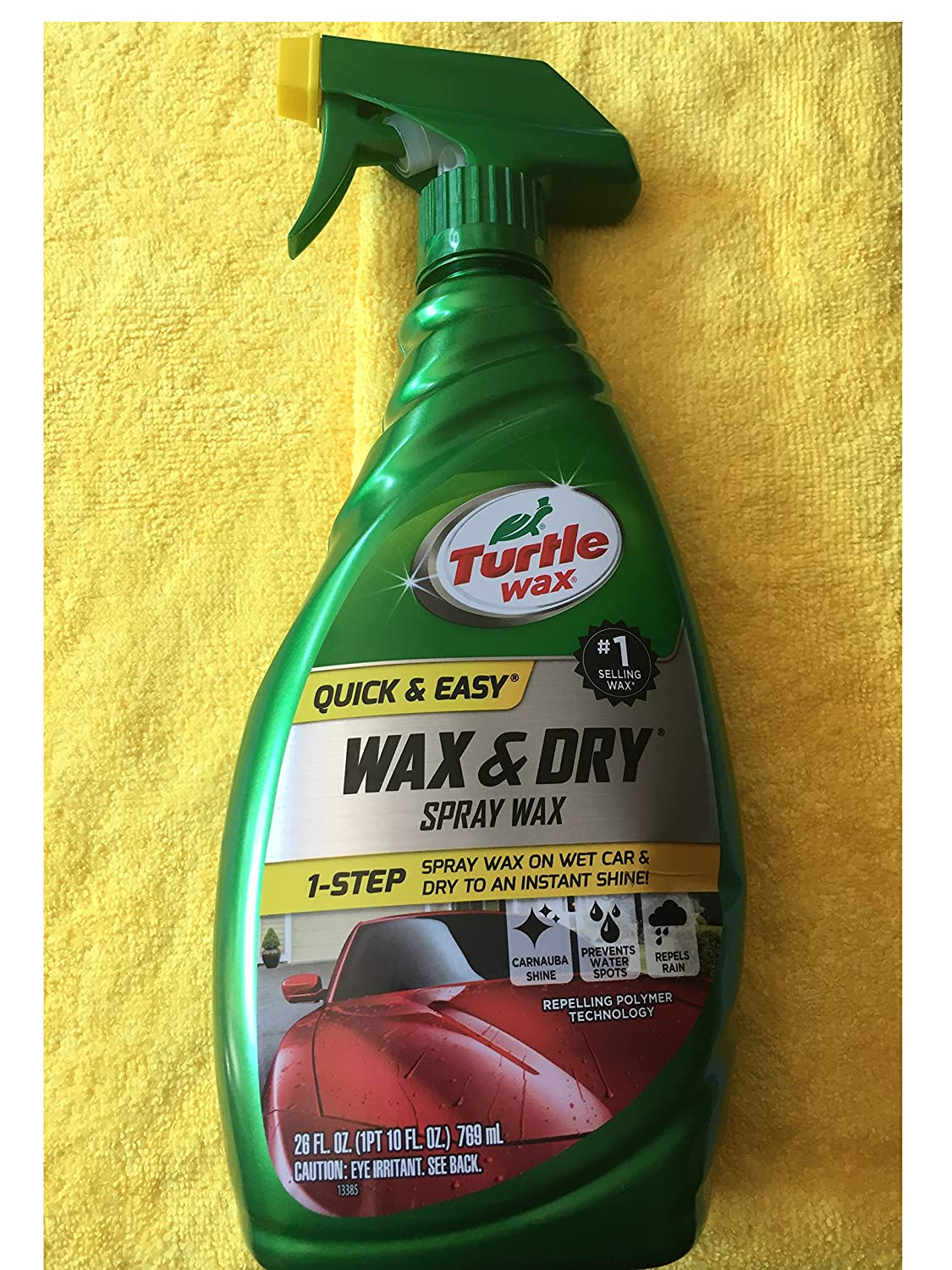 Mixturtle Wax T9 Quick And Easy 1 Step Dry Turtle Ampamp Spray 26