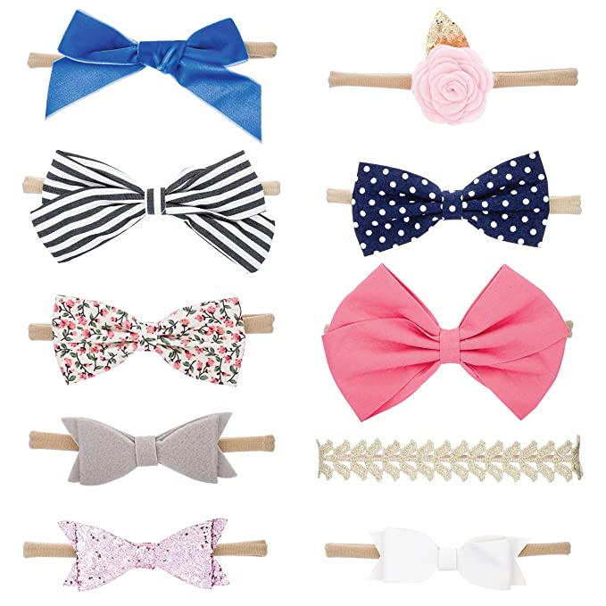 Top 9 Best Baby Bows Headbands Reviews in 2020 8