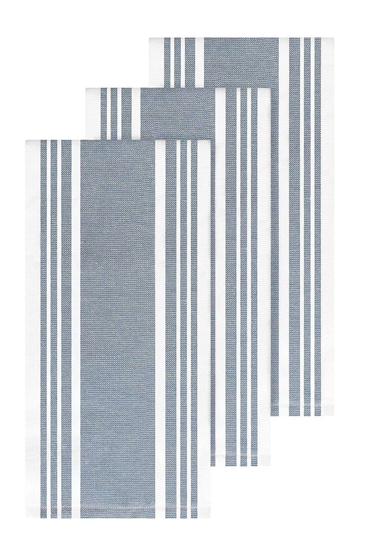 All-Clad Textiles 87116 Kitchen Towel, 3-Pack, Cornflower