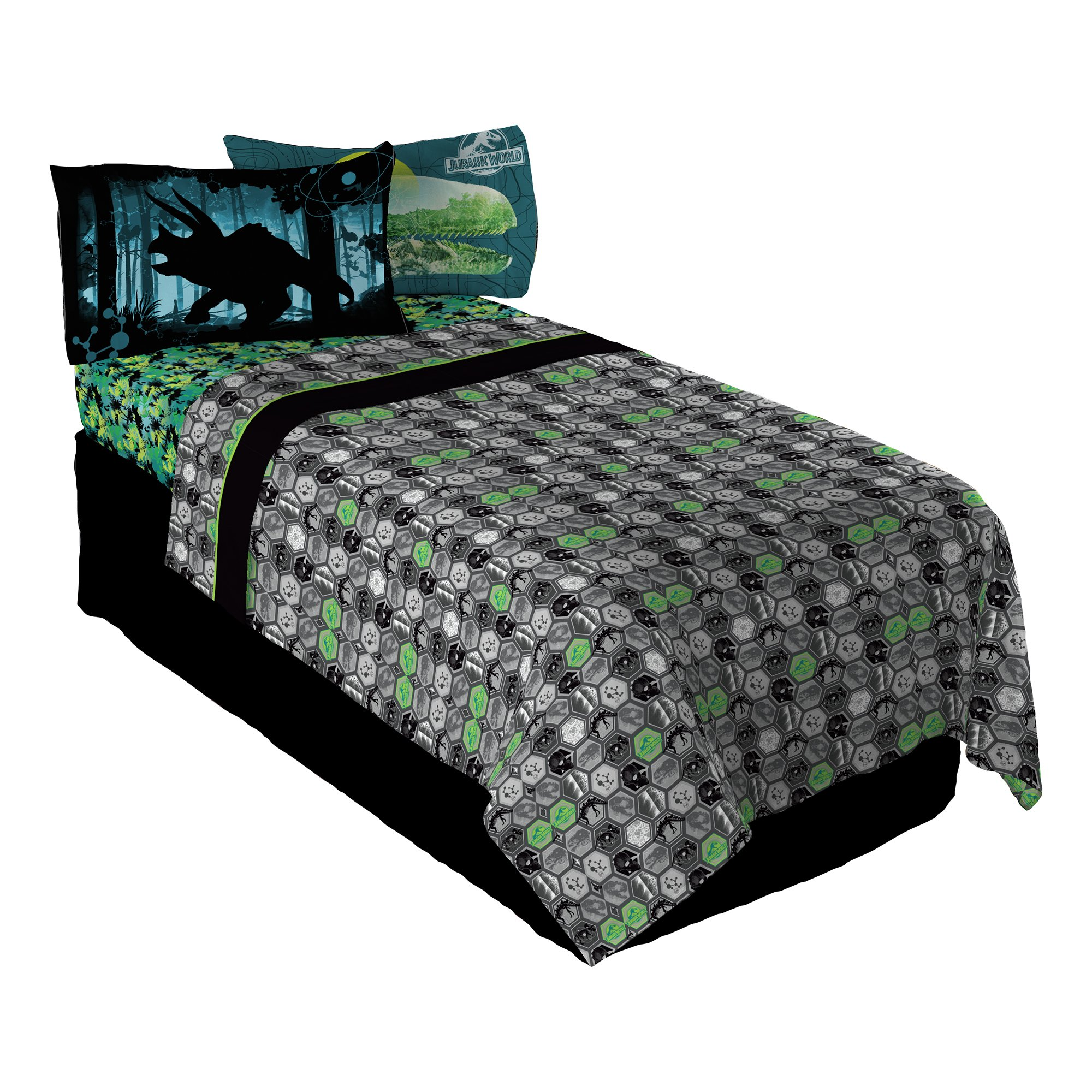 Universal Jurassic Perfect World Twin Sheet Set
