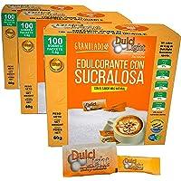 SUCRALOSA Ecologica Natural Edulcorante Granulado Dulcilight 300 SOBRES, CON PRACTICO DISPENSADOR Producto SABOR Y…