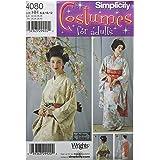 Simplicity Women's Japanese Geisha Costume Sewing Pattern, Sizes 6-12