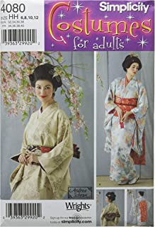 product image for Simplicity Women's Japanese Geisha Costume Sewing Pattern, Sizes 6-12