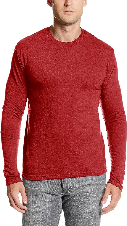 MJ Soffe Mens Performance Long-Sleeve T-Shirt