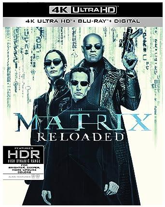 amazon com matrix reloaded the 4k ultra hd blu ray larry