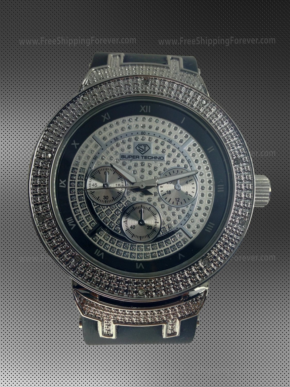 Super Techno Diamond Watch M-6280
