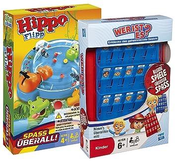 Hasbro B1001100 Hippo Flipp Kompakt Spiele