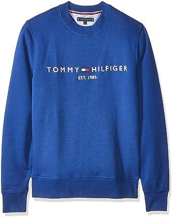 New York Preis vergleichen großer Diskontverkauf Tommy Hilfiger Herren Logo Sweatshirt