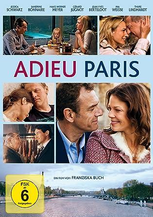 Adieu Paris Amazonfr Schwarz Meyer Jessica Bonnaire Hans Werner