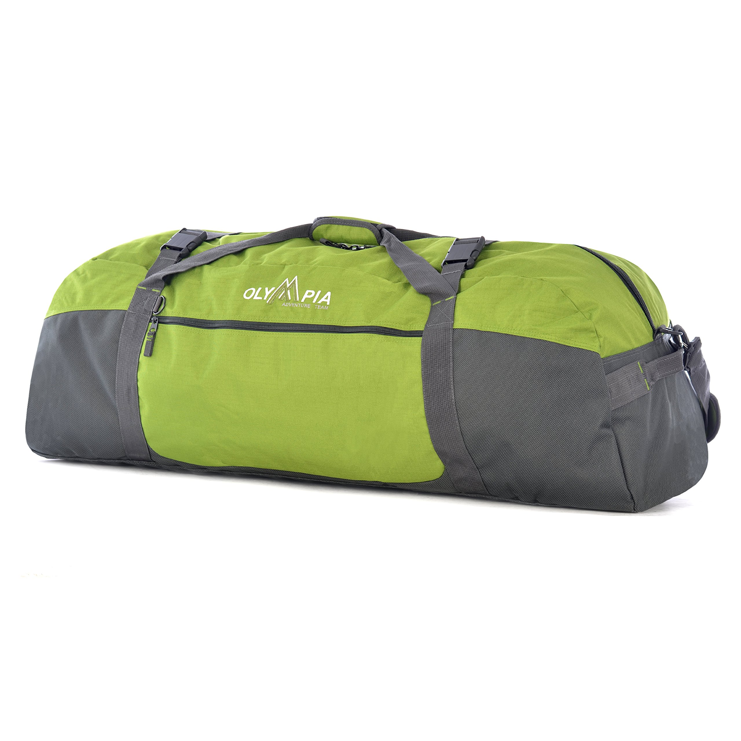 Olympia Luggage 36 Inch Sports Duffel,Green,One Size