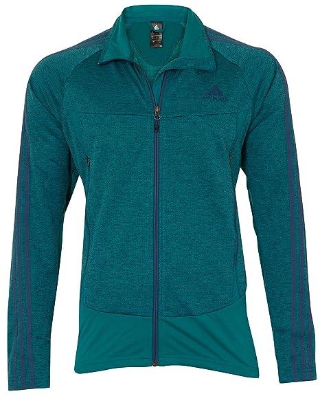 Adidas Mens Cross Country/Skiing/Golf/Football Fleece Jacket Teal UK Size 42