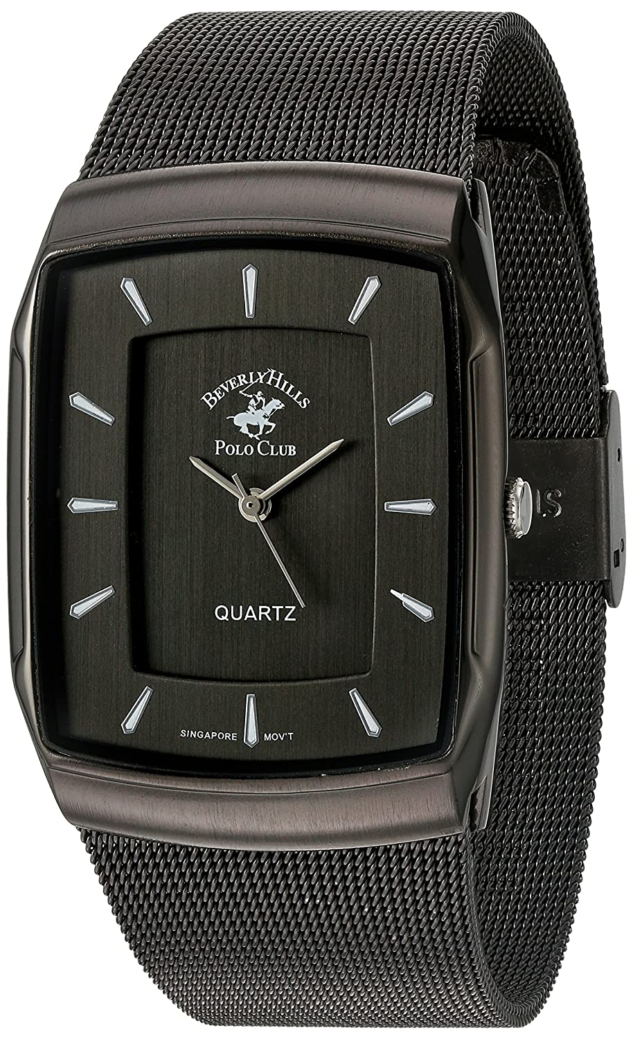 Amazon.com: US Beverly Hills Polo Club Mens Quartz Metal and Alloy Watch, Color:Grey (Model: 53302): Watches