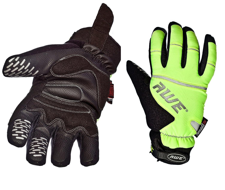 AWE® AWEViz™ 3M Scotchlite Thinsulate High Visibility Winter Glove Neon Medium