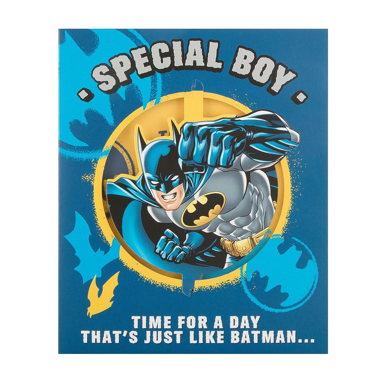 Hallmark 25490593 - Tarjeta de cumpleaños de Batman