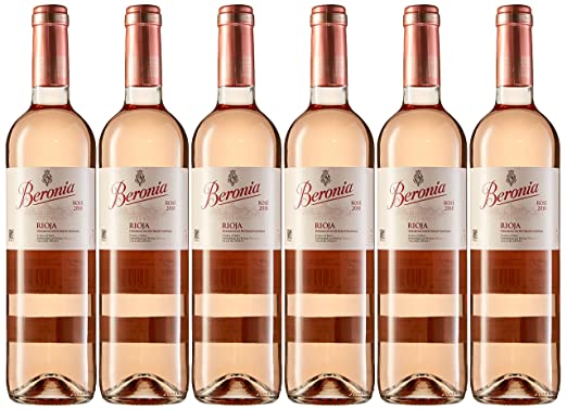 Beronia Rosado - Vino D.O.Ca. Rioja - 6 botellas de 750 ml - Total ...