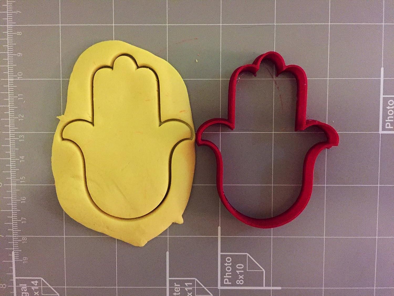 Hamsa Cookie Cutter Lucky Hand Metal mold Stainless steel bakery kitchen 4pcs