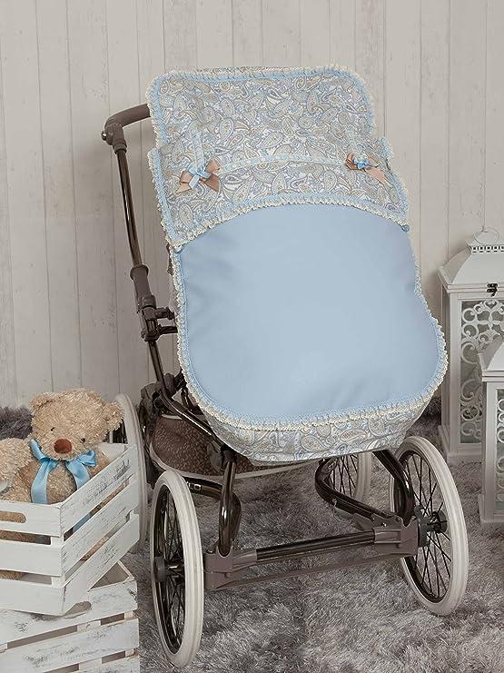 Babyline Caramelo - Saco para silla de paseo, color azul: Amazon.es: Bebé