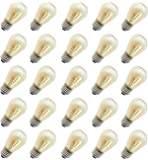 Rolay 11 Watt S14 Incandescent Light Bulbs with E26 Base, Pack of 25