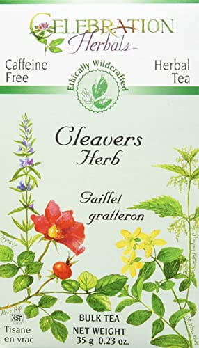 CELEBRATION HERBALS Cleavers Herb Wildcrafted 35 gm, 0.02 Pound