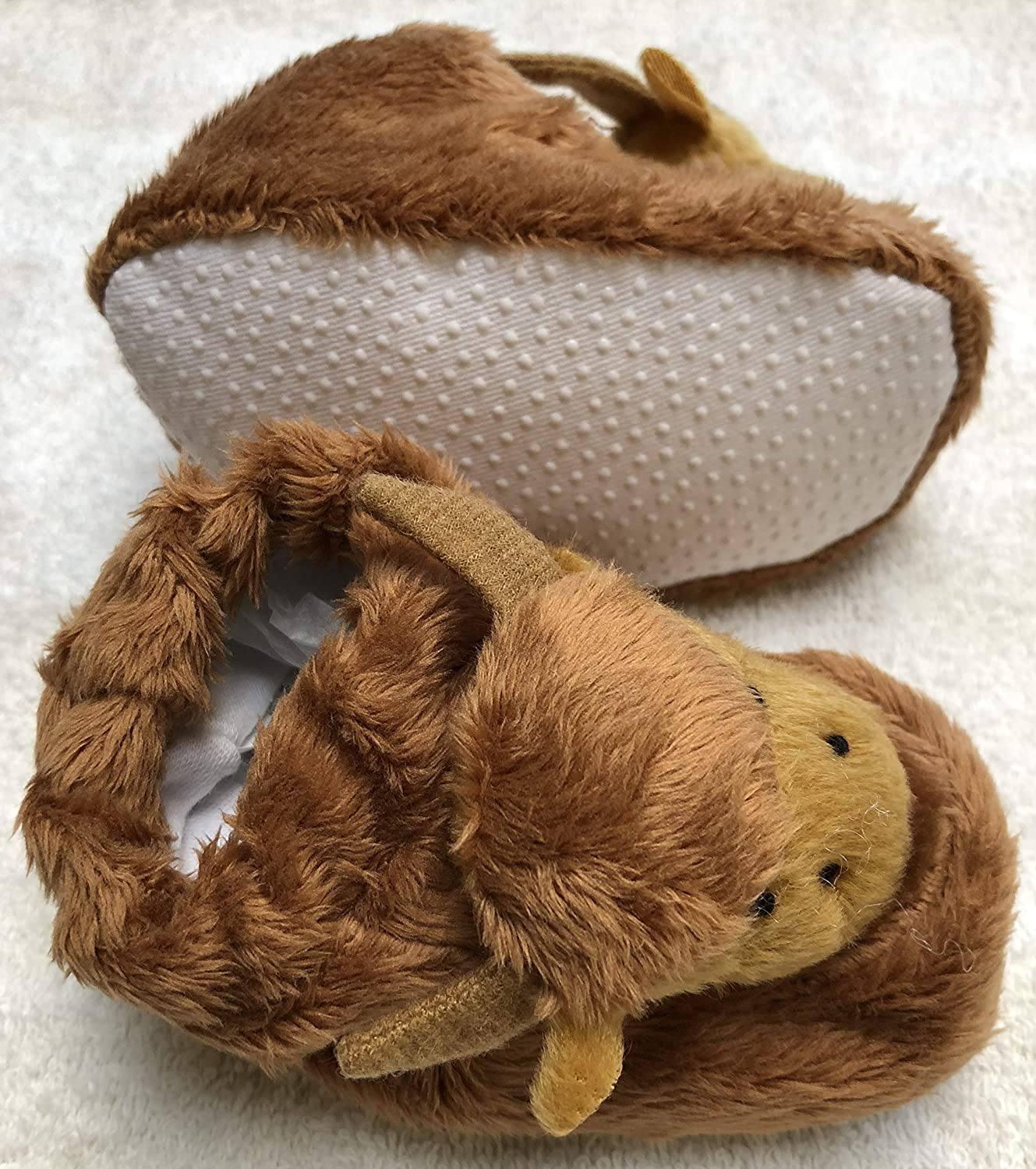 Glen Appin Scottish Highland Cow Baby Booties