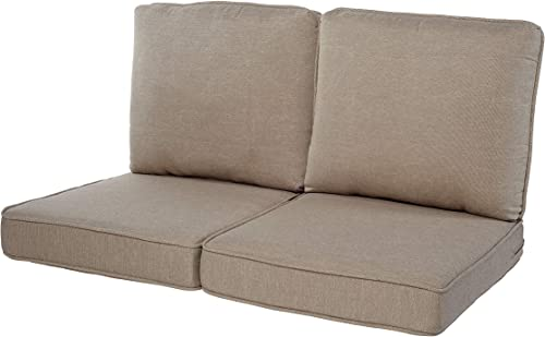 Quality Outdoor Living 29-TN02LV Loveseat Cushion